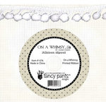 Fancy Pants Designs - On A Whimsey Collection - Ball Trim Ribbon - 25 Yards - White