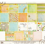 Fancy Pants Designs - On A Whimsy Collection - 12 x 12 Paper Kit