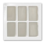 Fancy Pants Designs - On Display Collection - Embellish Me Frames - Window Frame - White, CLEARANCE