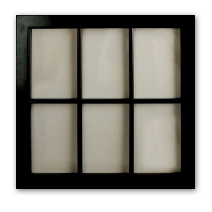 Fancy Pants Designs - On Display Collection - Embellish Me Frames - Window Frame - Black