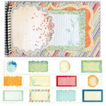 Fancy Pants Designs - Summer Soiree Collection - 5 x 8 Notebook Journal, BRAND NEW