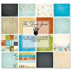 Fancy Pants Designs - The Daily Grind Collection - 8 x 8 Paper Pad