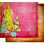 Fancy Pants Designs - Happy Holidays Collection - 12 x 12 Double Sided Paper - Wonderland, CLEARANCE