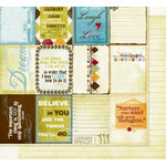 Fancy Pants Designs - All Fall Collection - 12 x 12 Double Sided Paper - Cards