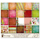 Fancy Pants Designs - Happy Holidays Collection - Paper Kit