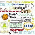 Fancy Pants Designs - Rub Ons - Boy Phrases