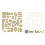 Fancy Pants Designs - Bag-O-Tags - Mini Cardstock Tags, CLEARANCE