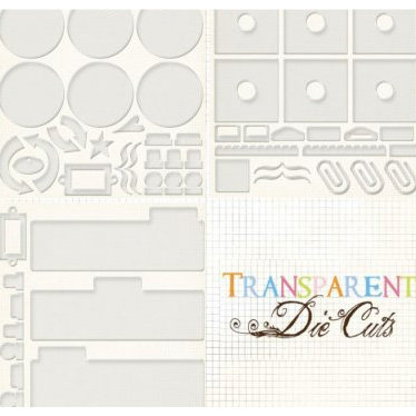 Fancy Pants Designs - Transparent Die Cuts - Creative Books