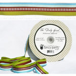 Fancy Pants Designs - The Daily Grind Collection - Woven Ribbon - 25 Yards, CLEARANCE