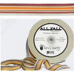 Fancy Pants Designs - All Fall Collection - Woven Ribbon - 25 Yards, CLEARANCE