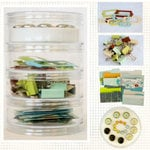 Fancy Pants Designs - The Daily Grind Collection - Embellishment Kit, CLEARANCE