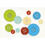 Fancy Pants Designs - The Daily Grind Collection - Buttons, CLEARANCE