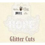 Fancy Pants Designs - Glitter Cuts - Word - Hope, CLEARANCE