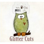 Fancy Pants Designs - Glitter Cuts - Owl