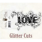 Fancy Pants Designs - Glitter Cuts - Word - Love