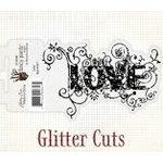 Fancy Pants Designs - Glitter Cuts - Word - Love