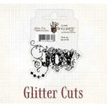 Fancy Pants Designs - Glitter Cuts - Word - Joy