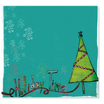 Fancy Pants Designs - Happy Holidays Collection - 12 x 12 Transparency - Holiday Time