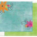 Fancy Pants Designs - Daydreams Collection - 12x12 Double Sided Paper - Believe