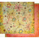 Fancy Pants Designs - Sweet Spring Collection - 12x12 Double Sided Paper - Lily
