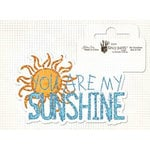 Fancy Pants Designs - Glitter Cuts Transparencies - My Sunshine