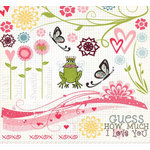 Fancy Pants Designs - Crush Collection - Valentine's Day - Rub Ons - Crush