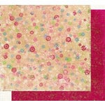 Fancy Pants Designs - Holly Jolly Collection - Christmas - 12x12 Double Sided Paper - Flurry