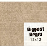 Fancy Pants Designs - Biggest Board Chipboard - 12x12 - Say It Simple