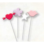 Fancy Pants Designs - Pins - Valentine's Day - With Love, CLEARANCE