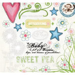 Fancy Pants Designs - Sweet Pea Collection - Rub Ons