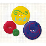 Fancy Pants Designs - Fashion Sense Collection - Buttons - Playhouse, CLEARANCE