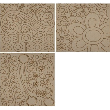 Fancy Pants Designs - Biggest Board Chipboard - 12x12 - Swirls and Twirls, CLEARANCE