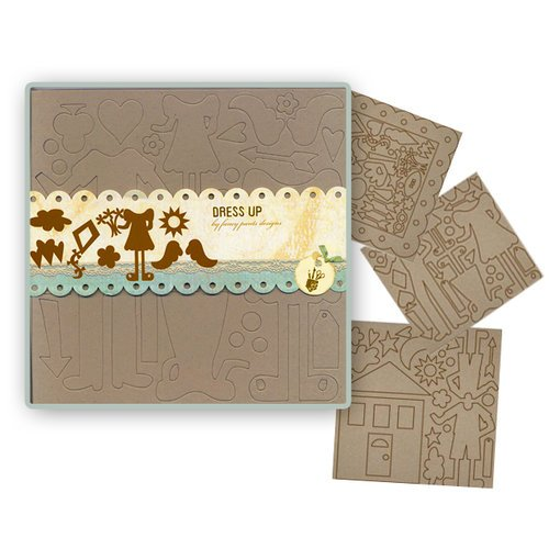 Fancy Pants Designs - Biggest Board Chipboard - 12x12 - Dress Up