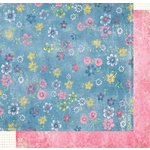 Fancy Pants Designs - Sweet Pea Colleciton - 12x12 Double Sided Paper - Brenna