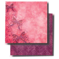 Fancy Pants Designs - 12x12 Double Sided Paper - Kewl Collection - Alluring