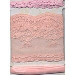 Fancy Pants Designs - Fancy Lace Wraps - Flushed, CLEARANCE