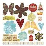 Fancy Pants Designs - Clair de Lune Collection - Line Titles and Tags, CLEARANCE