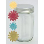 Fancy Pants Designs - Clair de Lune Collection - Flower Jars - Prima, CLEARANCE