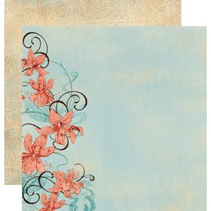 Fancy Pants Designs - Double Sided Cardstock Paper - Free Spirit Collection - Passion