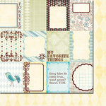 Fancy Pants Designs - Happy Together Collection - 12 x 12 Double Sided Paper - Cards