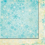 Fancy Pants Designs - Tradition Collection - Christmas - 12 x 12 Double Sided Paper - Falling Snow