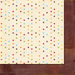 Fancy Pants Designs - It's Your Day Collection - 12 x 12 Double Sided Paper - Sugar Dots, CLEARANCE