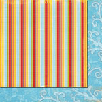 Fancy Pants Designs - It's Your Day Collection - 12 x 12 Double Sided Paper - Hooray, CLEARANCE