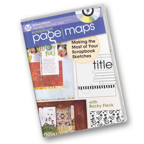 F+W Publications Inc. - Memory Makers - Making the Most of Your Scrapbook Sketches with Becky Fleck - DVD