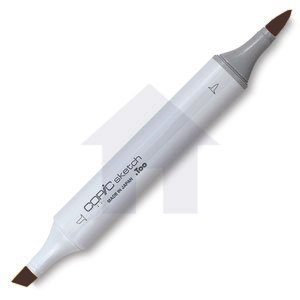 Copic - Sketch Marker - E49 - Dark Bark