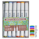 Copic - Sketch Marker Set - Garden - 12 Piece Set