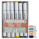 Copic - Sketch Marker Set - Shabby Sheik - 12 Piece Set