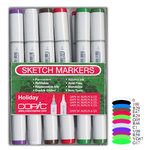 Copic - Sketch Marker Set - Holiday - 12 Piece Set
