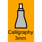 Copic - Copic Marker - Nib - Calligraphy 3mm