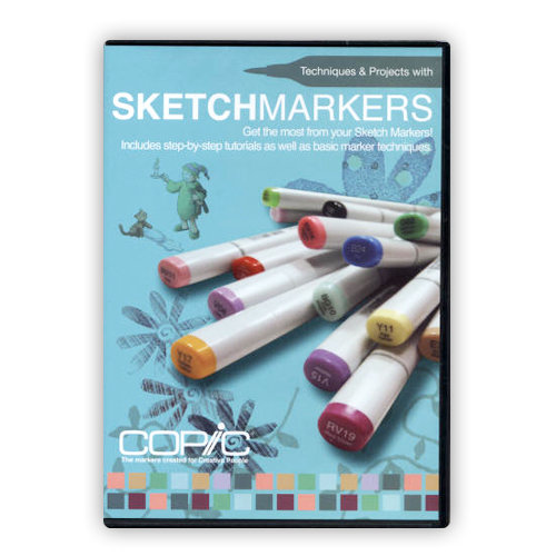 Copic - Techniques and Projects with Sketch Markers - DVD